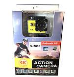 Экшн камера 4K wi-fi + Видеорегистратор+ Аквабокс +крепления аналог Go Pro, фото 2