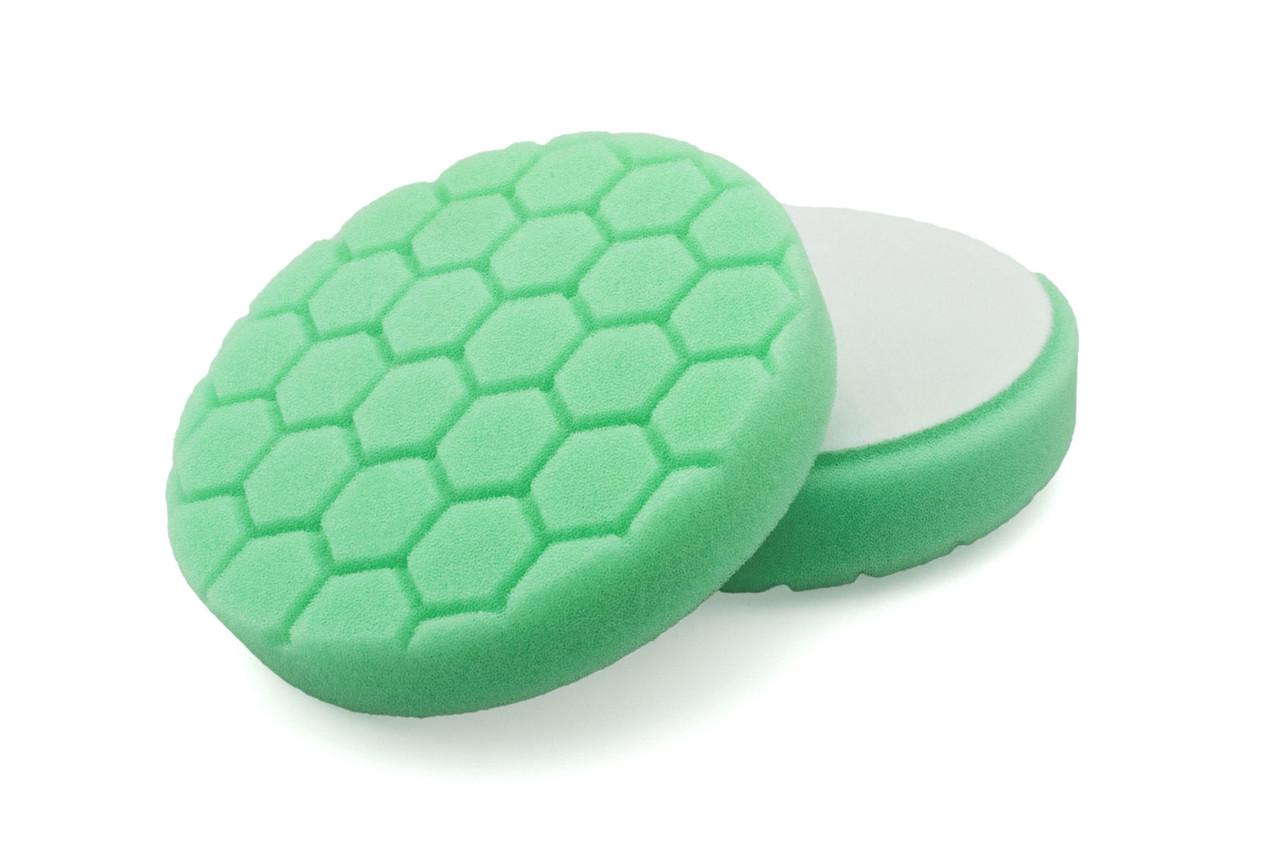 """Полировальный круг соты средней жесткости - Flexipads PRO-Detail 135 мм. (5,5"""") 30 мм. зеленый (HL540)"""