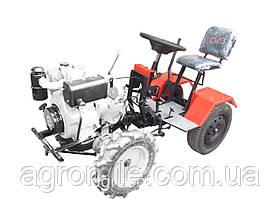 """Адаптер-мототрактор ТМ """"Ярило"""" (для мотоблоков 6-9 л.с. воздушного охлаждения, + колеса)"""