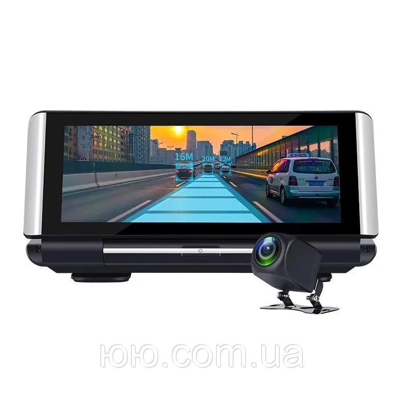 Відеореєстратор DVR K6 на торпеду -3 1 Android - Реєстратор, GPS навігатор, камера заднього виду