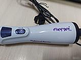 Фен-щітка обертається Gemei GM-4826 для сушки і укладання волосся, Мультистайлер, фото 6