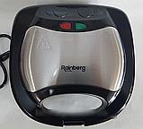 Гриль контактный Rainberg RB-5404 750 Вт,  бутербродница, сендвичница Реинберг, фото 2