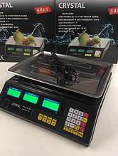 Торговые электронные весы  Weight Crystal CT 500 до 50кг