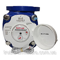 Счетчик воды турбинный фланцевый Baylan W-1 Ду 80, фото 3