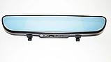 "Дзеркало відеореєстратор D35 (Android) 1/8 (LCD 7"", GPS), 2 камери, фото 3"