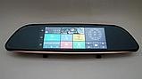 "Дзеркало відеореєстратор D35 (Android) 1/8 (LCD 7"", GPS), 2 камери, фото 4"
