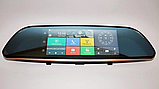 "Дзеркало відеореєстратор D35 (Android) 1/8 (LCD 7"", GPS), 2 камери, фото 7"