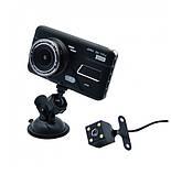 """Автомобильный  видеорегистратор A11B  4"""" Full HD , 2 камеры, фото 4"""