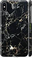 "Чехол на Apple iPhone XS Max Черный мрамор ""3846c-1557-8094"""