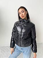 Демисезонная женская куртка дутая короткая