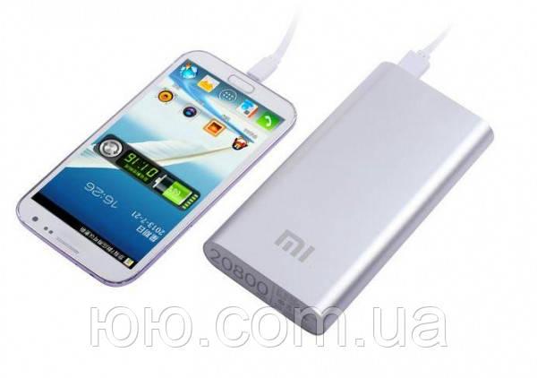 Портативное зарядное устройство Power Bank Xiaomi Mi 20800 mAh replika