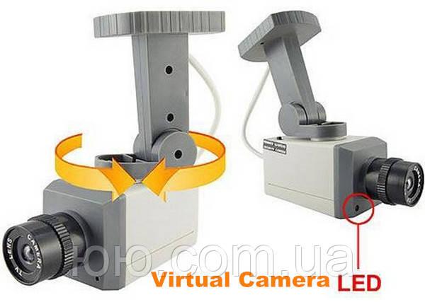 Камера відеоспостереження Відеокамера муляж, камера обманка, камера муляж з мотором 586