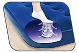 Надувний матрац Bestway 67224 (188х99х22 см) з вбудованим ножним насосом, фото 4