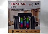 Аудио система 3.1 Era Ear E-881, колонки 120 Вт, домашняя акустика USB, Bluetouch, FM, Card, MP3, фото 7
