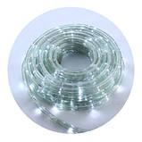 Новорічна світлодіодна гірлянда-стрічка RL 10м біла, фото 2