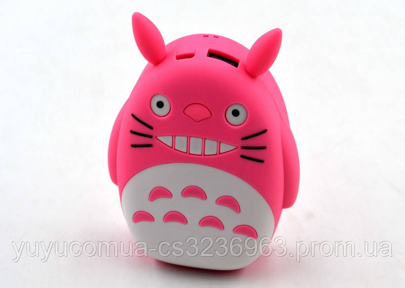 Портативний акумулятор дитячий Totoro 12000 mAh / 1 USB
