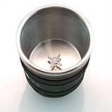 Термокружка у вигляді об'єктива Canon 24-105M c міксером, фото 5
