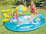 Дитячий надувний ігровий центр Intex 57129 Аллиигатор, фото 2