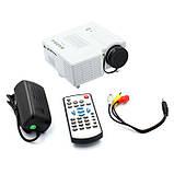 Портативный мультимедийный проектор Led Projector UC-28+, фото 2