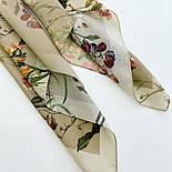 10958-2, павлопосадский платок шелковый (крепдешиновый) с подрубкой, фото 3