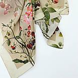 10958-2, павлопосадский платок шелковый (крепдешиновый) с подрубкой, фото 7