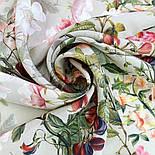 10958-2, павлопосадский платок шелковый (крепдешиновый) с подрубкой, фото 8