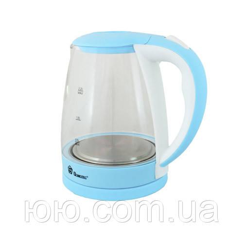 Электрический чайник Domotec MS-8214 (2,2 л / 2200 Вт) Голубой