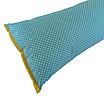 Подушка/обнимашка от сквозняков 90*15 см, (хлопок) (горох на бирюзовом), фото 2