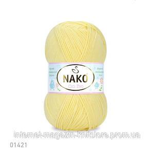 Пряжа Nako Cici Bio-Antibacterial Желтый