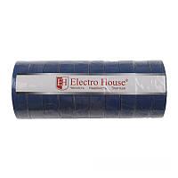 ElectroHouse Синяя изолента  11м