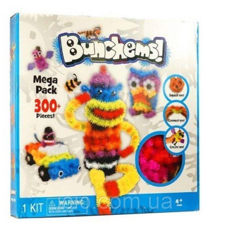 Bunchems конструктор липучка для дітей на 300 деталей
