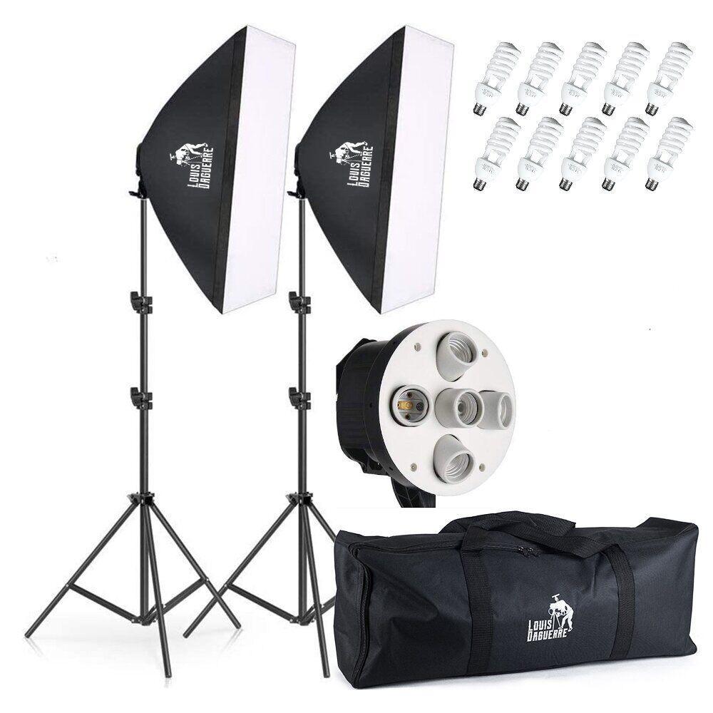 Набор постоянного студийного света на 5 ламп Louis Daguerre CA9061 (Без сумки)