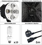 Набор постоянного студийного света на 5 ламп Louis Daguerre CA9061 (Без сумки), фото 3
