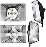 Набор постоянного студийного света на 5 ламп Louis Daguerre CA9061 (Без сумки), фото 4