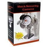 Камера відеоспостереження Відеокамера муляж, камера обманка, камера муляж РТ-1900, фото 4