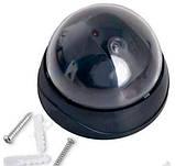 Камера відеоспостереження обманка муляж купольна 6688, фото 3