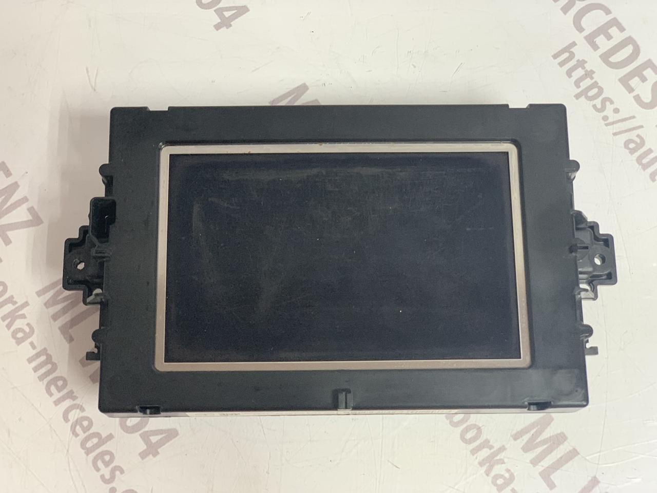 Дисплей магнітоли A1729008600 Mercedes ML W166 монітор Мерседес МЛ 166
