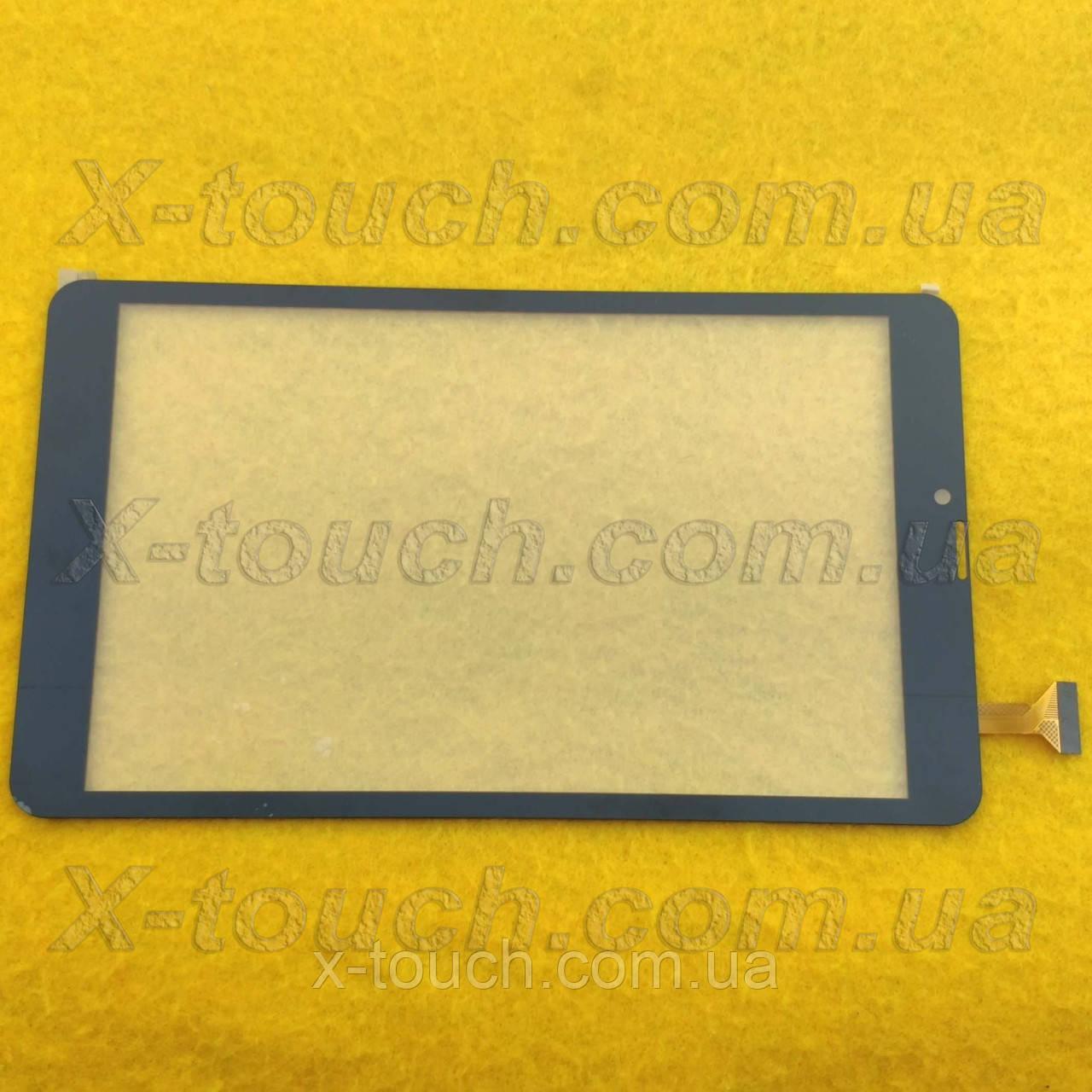 Тачскрін, сенсор XLD808-V0 для планшета, чорного кольору