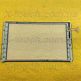 Тачскрін, сенсор XLD808-V0 для планшета, чорного кольору, фото 2