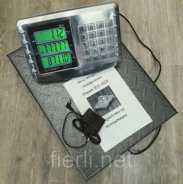 Товарные весы Олимп TCS-102-А 150 кг (300х400мм)