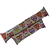 Подушка/обнимашка от сквозняков 90*15 см, (хлопок) (сказочные совы розовые), фото 5