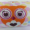 Подушка/обнимашка от сквозняков 90*15 см, (хлопок) (сказочные совы розовые), фото 3