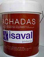 Краска фасадная гидроизолирующая Impermisal Lisso Isaval 4л, фото 1