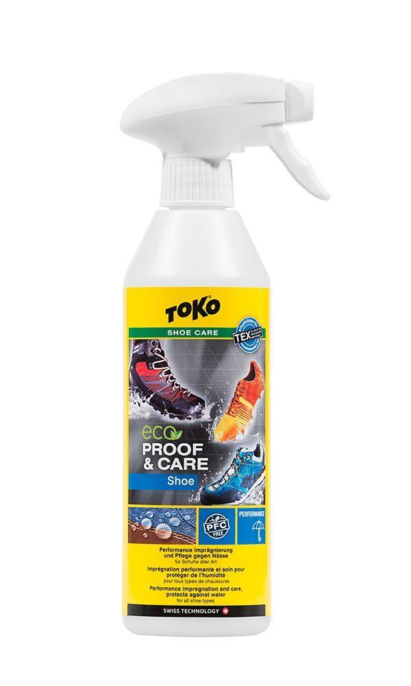 Водовідштовхувальне просочення для взуття Toko Eco Shoe Proof & Care 500 ml (5582627)