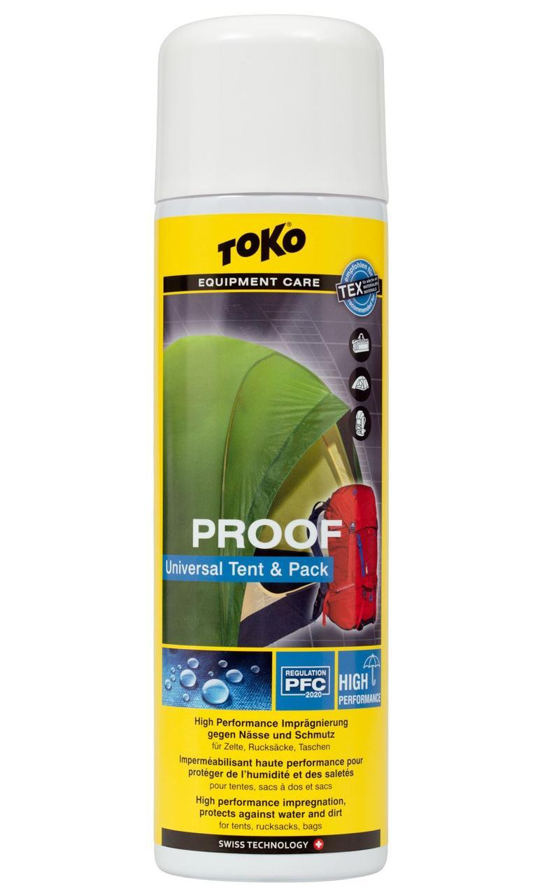 Водоотталкивающая пропитка для палаток и рюкзаков Toko Tent & Pack Proof 500 ml (5582650)