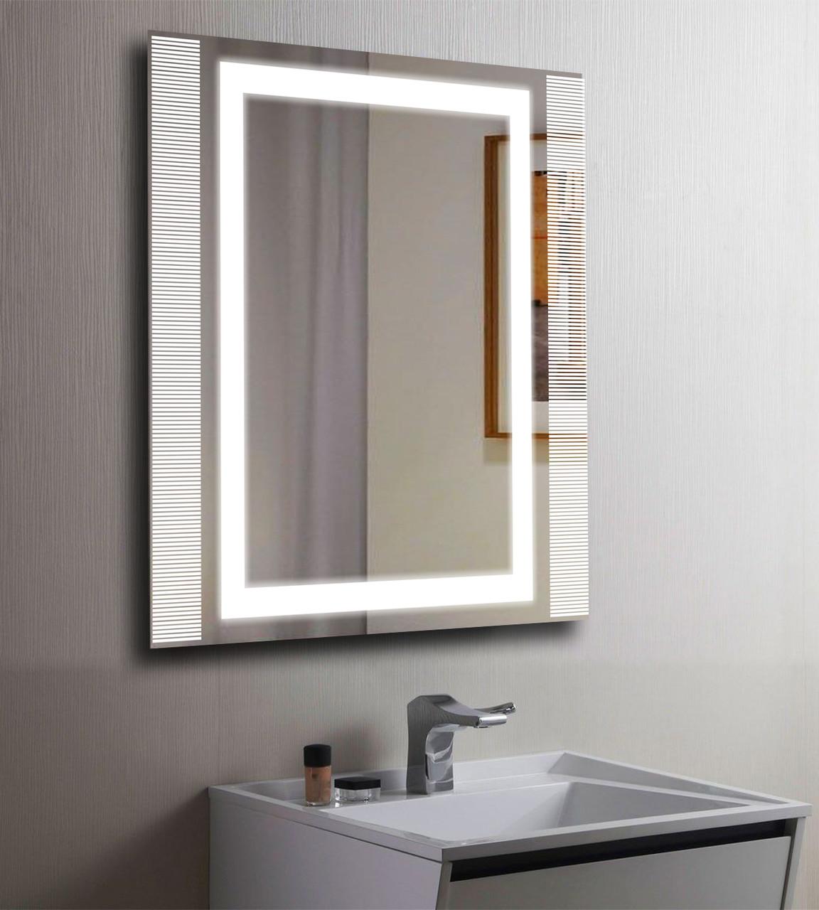 Зеркало LED (80*80*2,5см) VZ-AL-D40