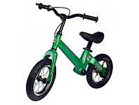 Беговел Maraton Prime для детей с ручным тормозом Зеленый, фото 1