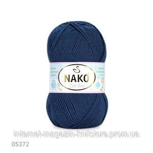 Пряжа Nako Cici Bio-Antibacterial Синий