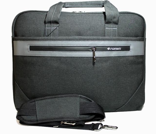 Наплічна сумка-портфель для ноутбука на одне відділення зі знімним ременем Два кольори Розміри: 30х40х6