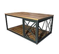 Журнальный / кофейный столик LOFTY в стиле лофт от Mebelle